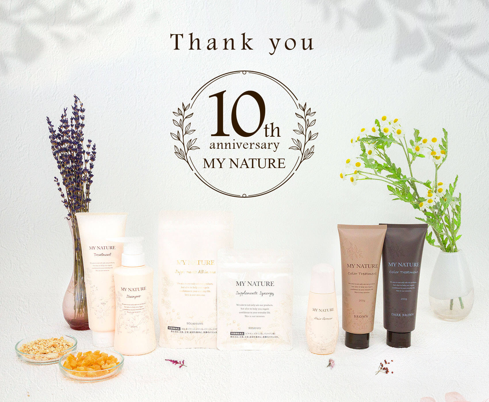 Thank you 10th anniversary MY NATURE